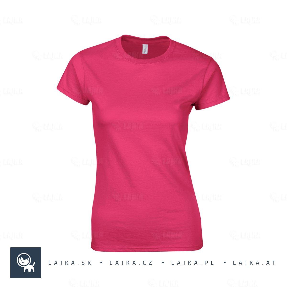 159f487ec76f Dámske tričko Softstyle Lady