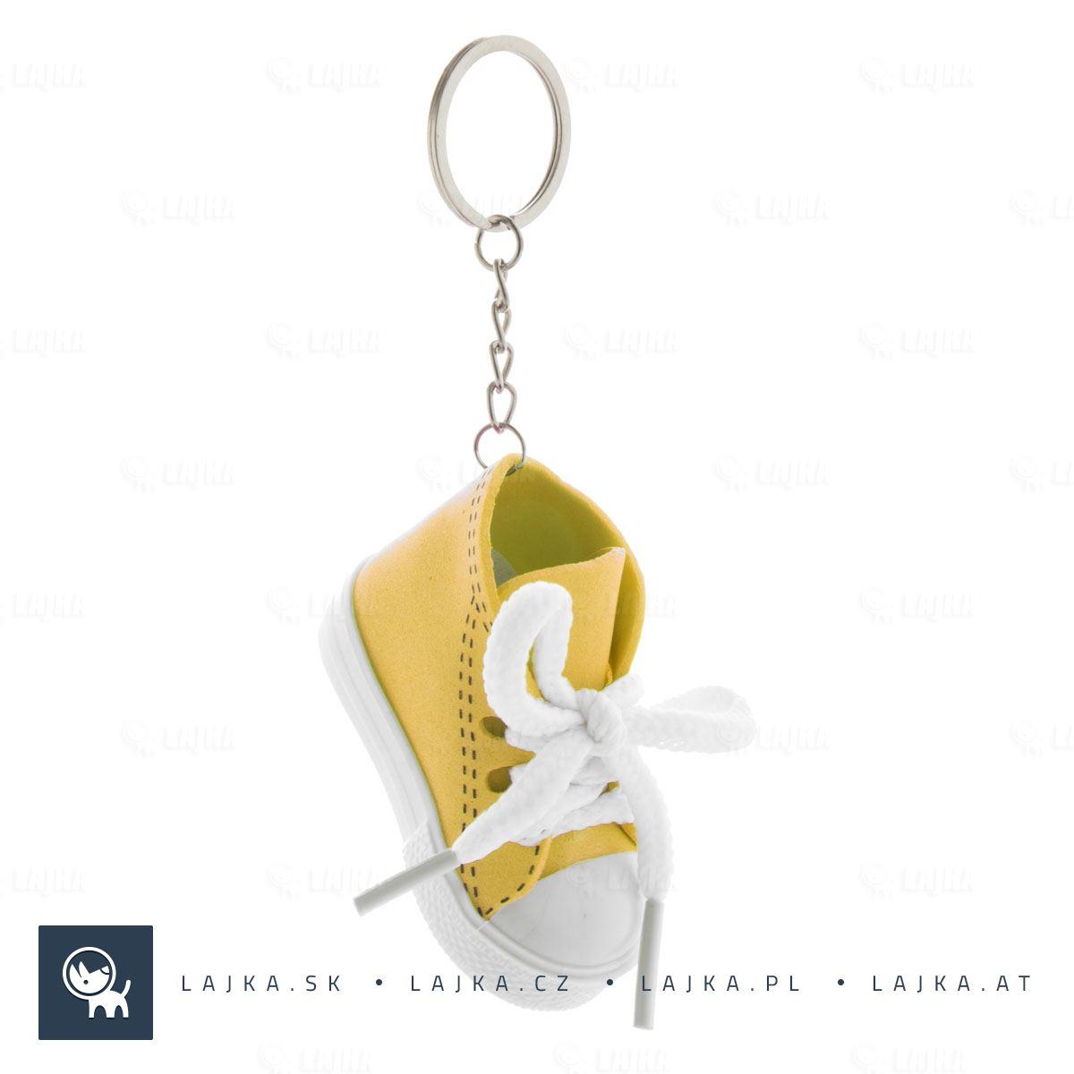 56ef5066e Prívesok na kľúče Komber, žltá   Reklamné Predmety