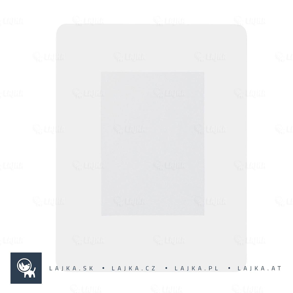 2910602be Podložka pod myš s fotorámčekom Pictium, biela | Reklamné Predmety
